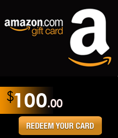 Amazon Gift Card Code worth $100