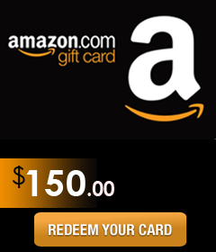 Amazon Gift Card Code worth $150